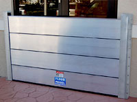 Flood Log, modular flood barriers
